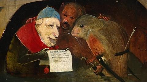 Bosch-ala-sinistra-la-tentazione-di-sant'antonio-museu-nacional-de-arte-antiga-hieronymus-bosch