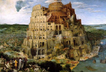 Peter Bruegel il Vecchio - Grande Torre di Babele (1583), Kunsthistorisches Museum, Vienna