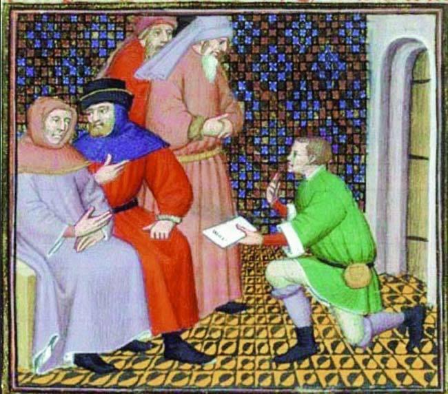 """Bible historiale de Guyart des Moulins"""" (1251 - 1322)"""