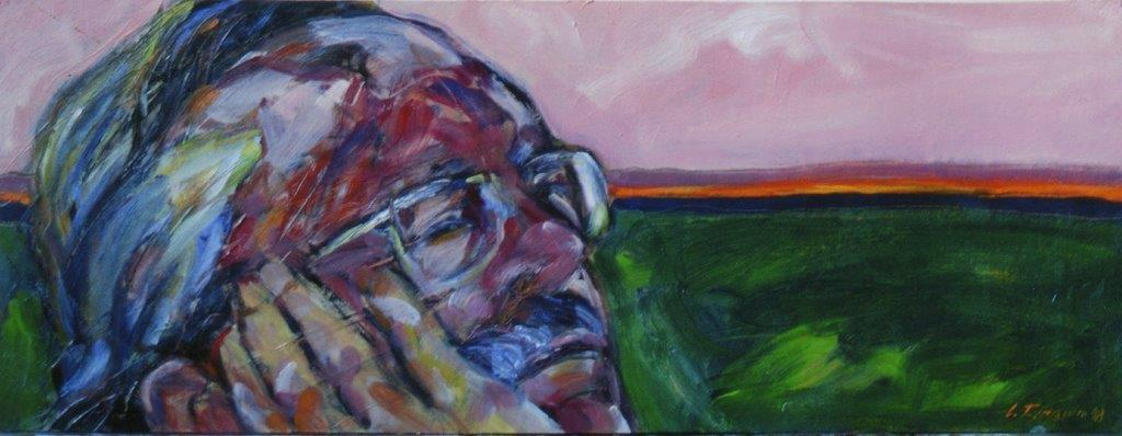 Giovanni Preto (Padova 1942 - ? ?), Ritratto (Luigi Tamanini, 2001)