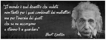 Einstein inerzia & disastro