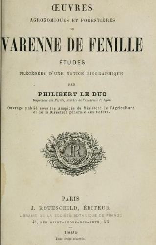Frontespizio Varenne de Fenille