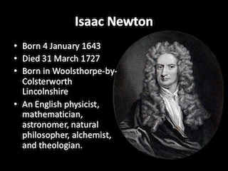 Isaac Newton, Biography