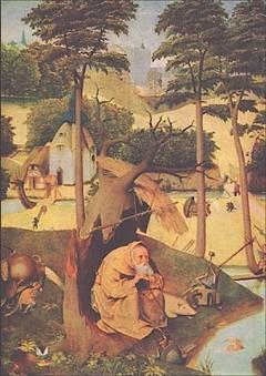 Hieronymus Bosch: Tentazioni di sant'Antonio, 1500-1525 ca.