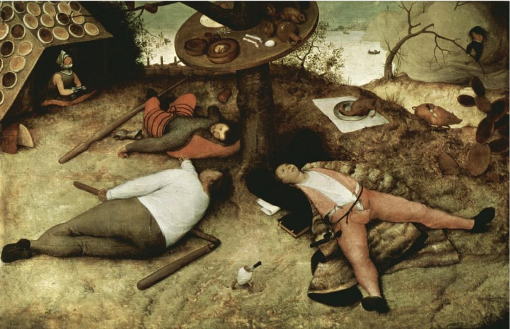 Bruegel, Il paese della cuccagna