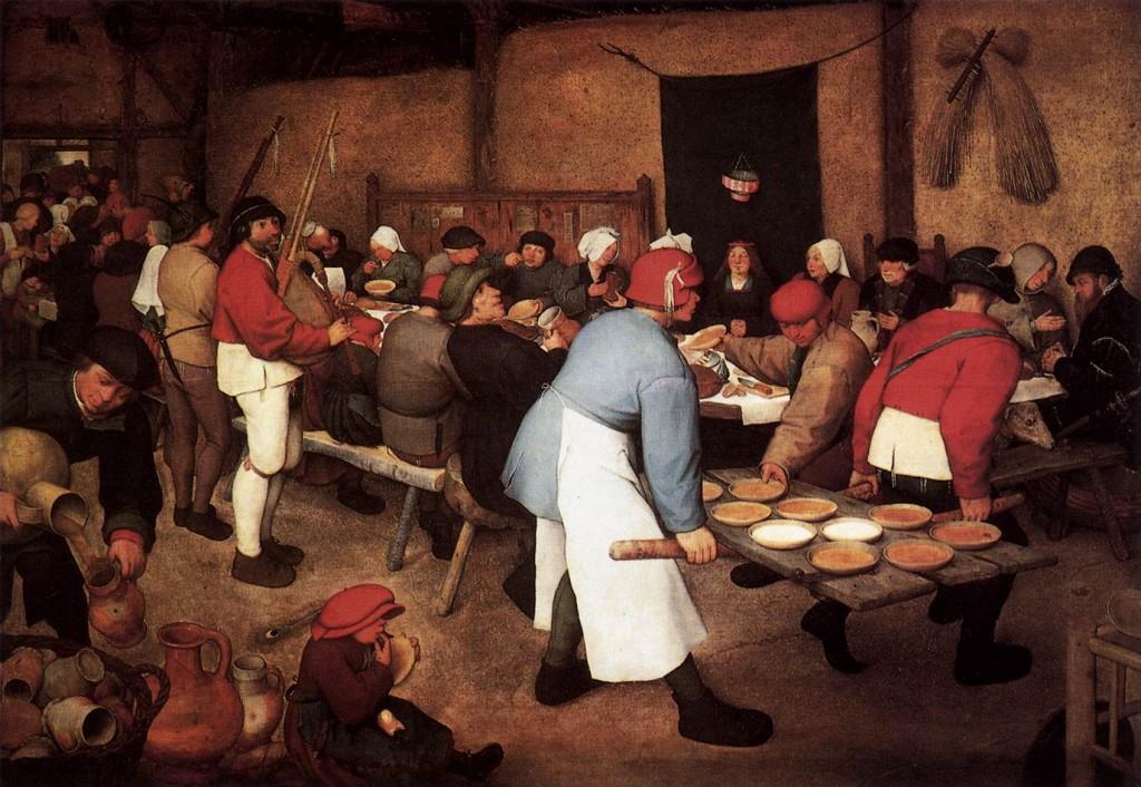 Brueghel Banchetto nuziale