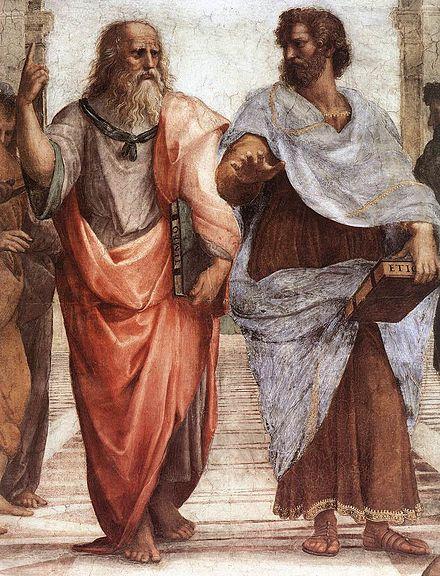 Raffaello, Platone e Aristotele (1506-1511)