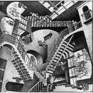 Escher, Nel castello incantato